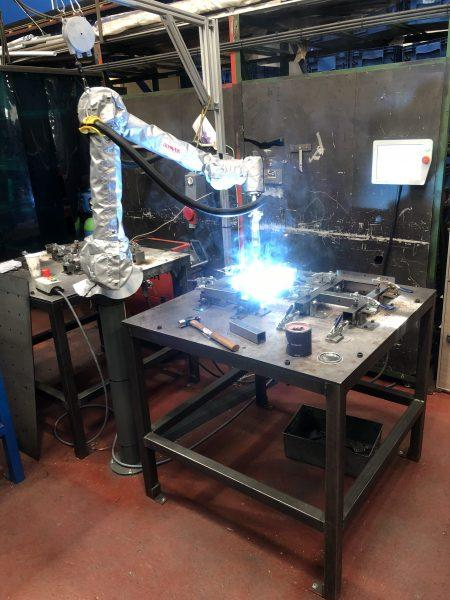 Robotic welder from Olympus Technologies