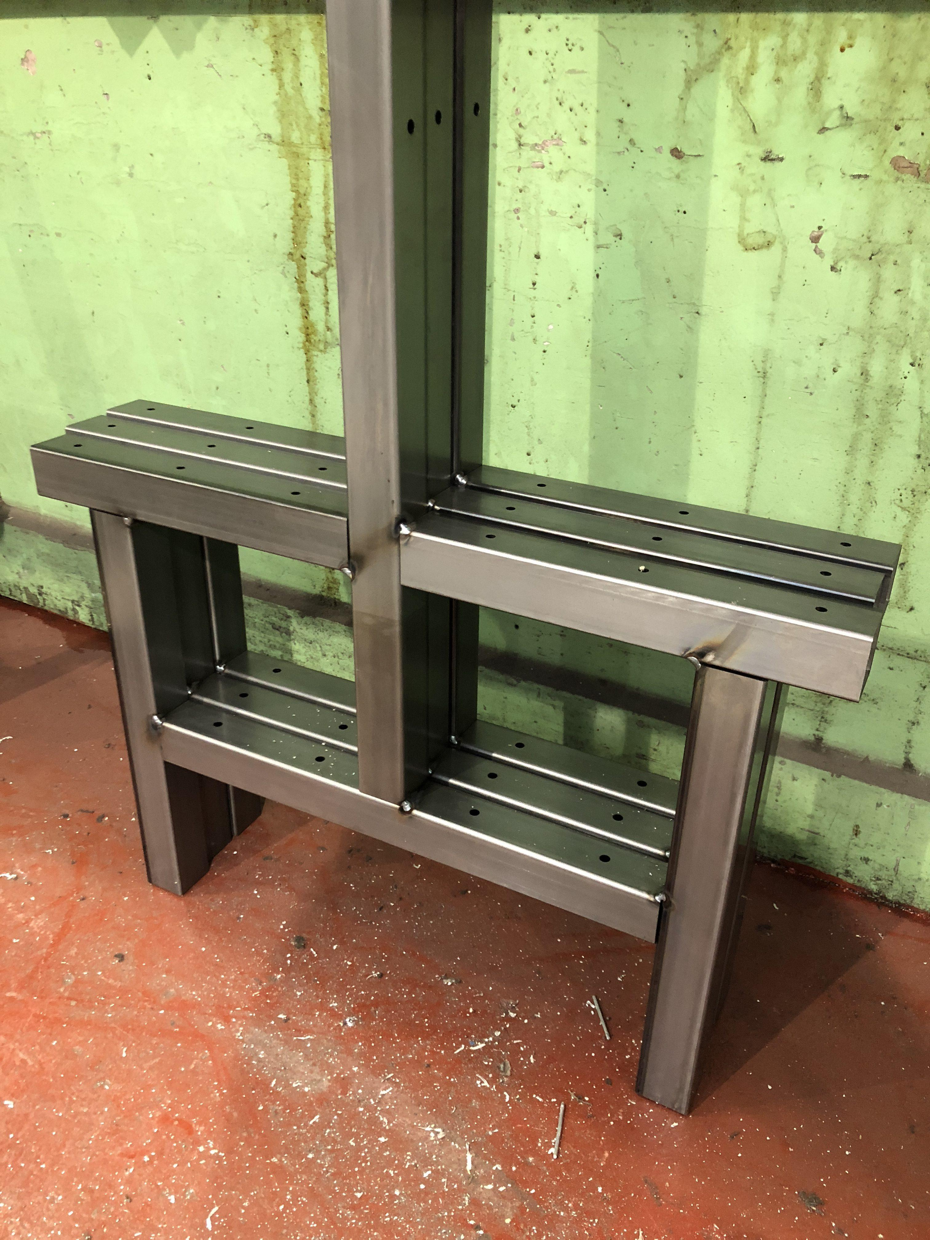Component from welding and fabrication